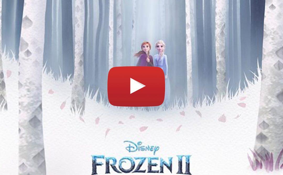 En el estreno de la semana hoy presentamos…Frozen 2