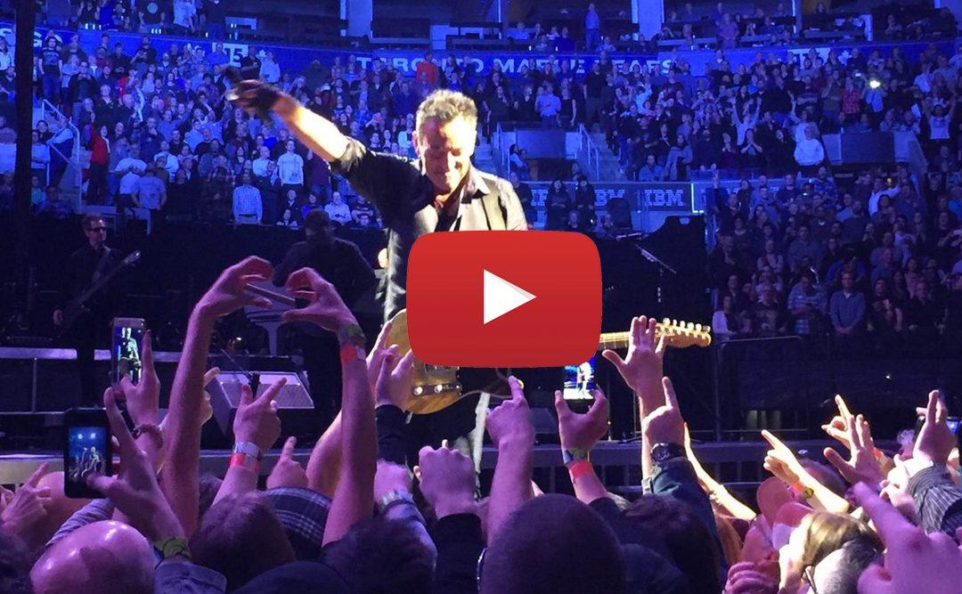 Hoy presentamos «El Jefe» Bruce Springsteen